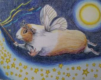 Fairy Guinea Pig Cards