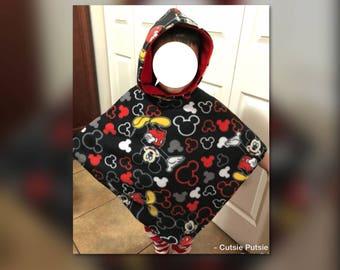 Car Seat Poncho, Childrens Poncho, Toddler Poncho, Child Poncho Overcoat, Warm Poncho, Kids Hooded Poncho, Car Seat Blanket, Car Seat Cover