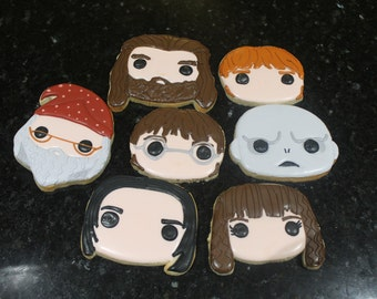 Harry potter cookies