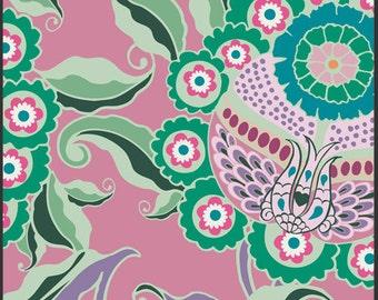 SALE  Art Gallery Fabrics - Hyperreal Garden Flowershock Mauve