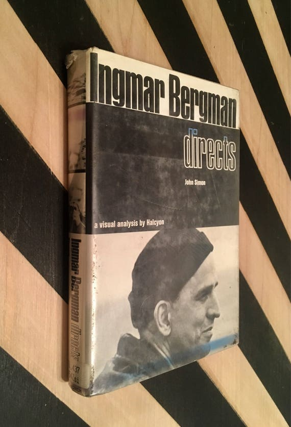 Ingmar Bergman Directs by John Simon (1972) hardcover book