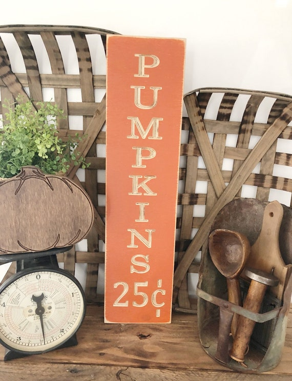 Farmhouse Wood Engraved Fall Sign