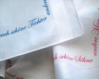 Handkerchief lovesickness
