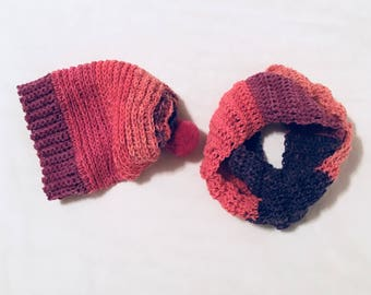Child Slouchy Hat & Cowl