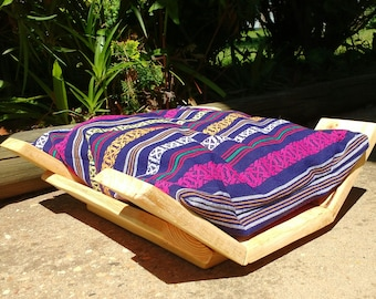 Small Dog Bed - Cat Bed - Recycled Pallet Wood Dog Bed - Wooden Dog Bed Pet Furniture - Pallet Dog Bed