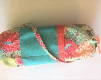 Floral Burst Yoga Bag