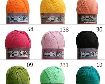 Cotton yarn, baby yarn, knitting yarn, crochet yarn, summer yarn, hypoallergenic yarn, weaving yarn, natural yarn, cotton yarn worsted