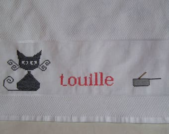 Cloth cat stir