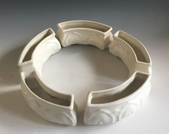Padre Pottery Flower Ring - Sectional in 5 pieces