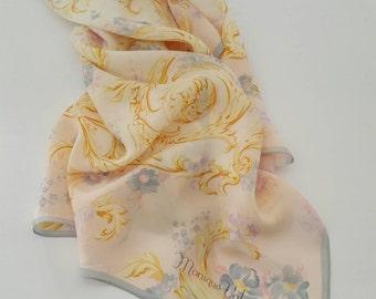 Monique Valery vintage scarf