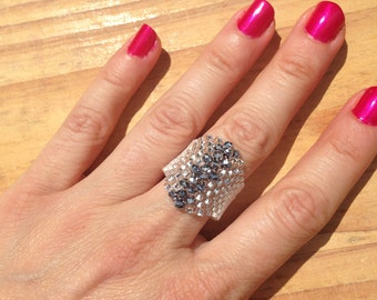 Crystal Bling Ring