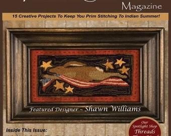 Magazine: 2015 Fall Back Issue - Punch Needle and Primitive Stitcher