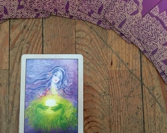 The Rumi Oracle card reading