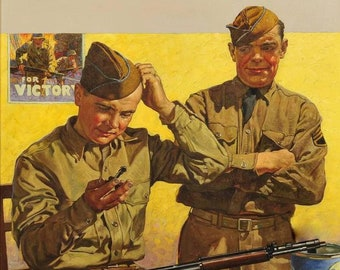 ARMY soldier art print collection large size