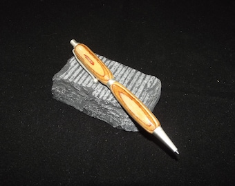 Hand turned plywood mechanical pencil