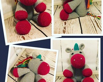 Crochet Unicorn Stuffed animal