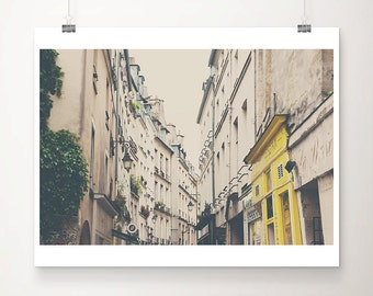 Paris photography, le Marais photograph, travel photography, Europe fine art photography, Paris decor, Paris rooftops, French decor