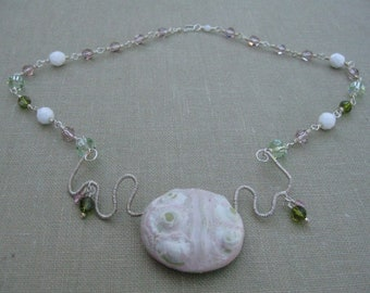 It's Organic Wire Wrapped Necklace - N129