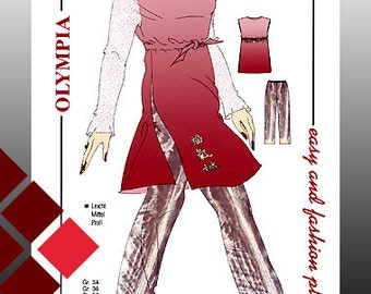 Patterns, 0906, tunic and trousers (1129)
