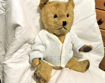 "Chiltern Bear - 20"" 1940's Bear - Antique Teddy Bear"