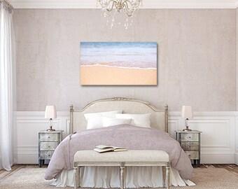 Sea Nautical Canvas Print, Ocean Canvas Print, Ocean Beach Canvas, Sea Sand Nautical decor,  Beach Art, Ocean Canvas Print, Gift
