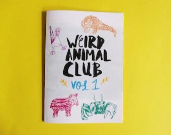 Weird Animal Club Vol 1 Ltd Edition A5 Zine