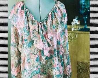 Victoria secret | 1970s Vintage Lingerie nightgown