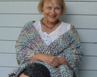 Crochet Shawl, Crocheted Shawls, Shawl Crochet, Shawl, Grandma Gift, Crochet Shawls, Milky Way Shawl, Handmade Shawl, Mom Gift