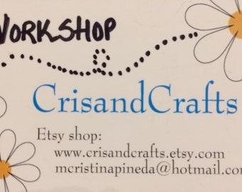 Cris&Crafts WORKSHOPS