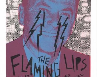 Flaming Lips Screen Print Concert Poster by Print Mafia