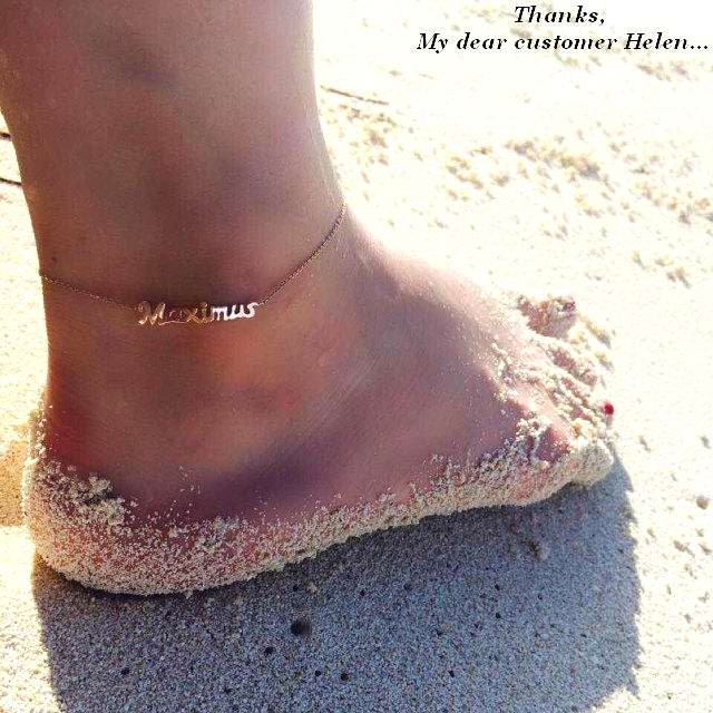 filled anklet drop listing dainty il gold au