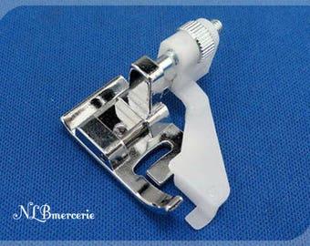 Presser foot for adjustable blind hem foot plastic