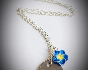 Lilo and Stitch insipred Ohana necklace