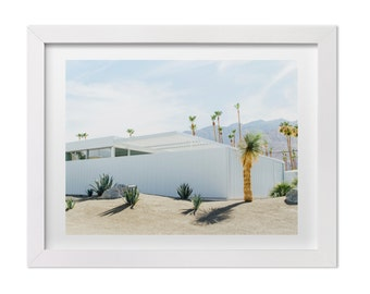 Palm Springs Photography, Desert Landscape Art Print, California Print, Architecture Art, Palm Springs Print, Mid Century Modern Print