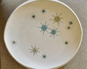"""Franciscan Starburst Large Platter In Excellent Condition, Barely Used.Approx 13 1/2"""" No damage"""