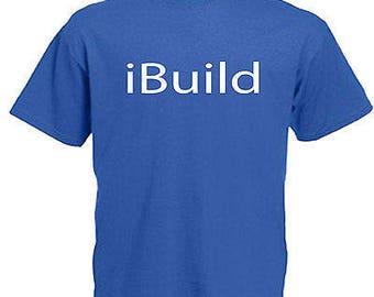 Builder mens t shirt 12 colours  size s - 3xl