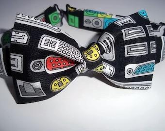 Geek Bow Tie-Computer Bow Tie-Job Interview-Techno Bow Tie-Computer Bow Tie-IT Guy-Nerd Bow Tie-Nerd Fest