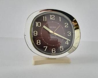 ALARM clock, WESTCLOX Big Ben USA Vintage 1970s
