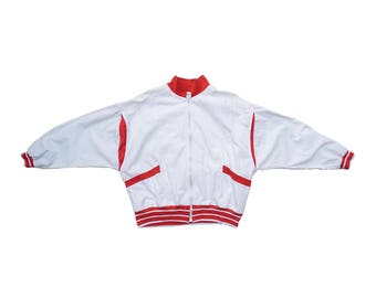 Vintage red white