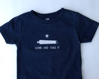 Come and Take It  Embroidered Toddler t-shirt