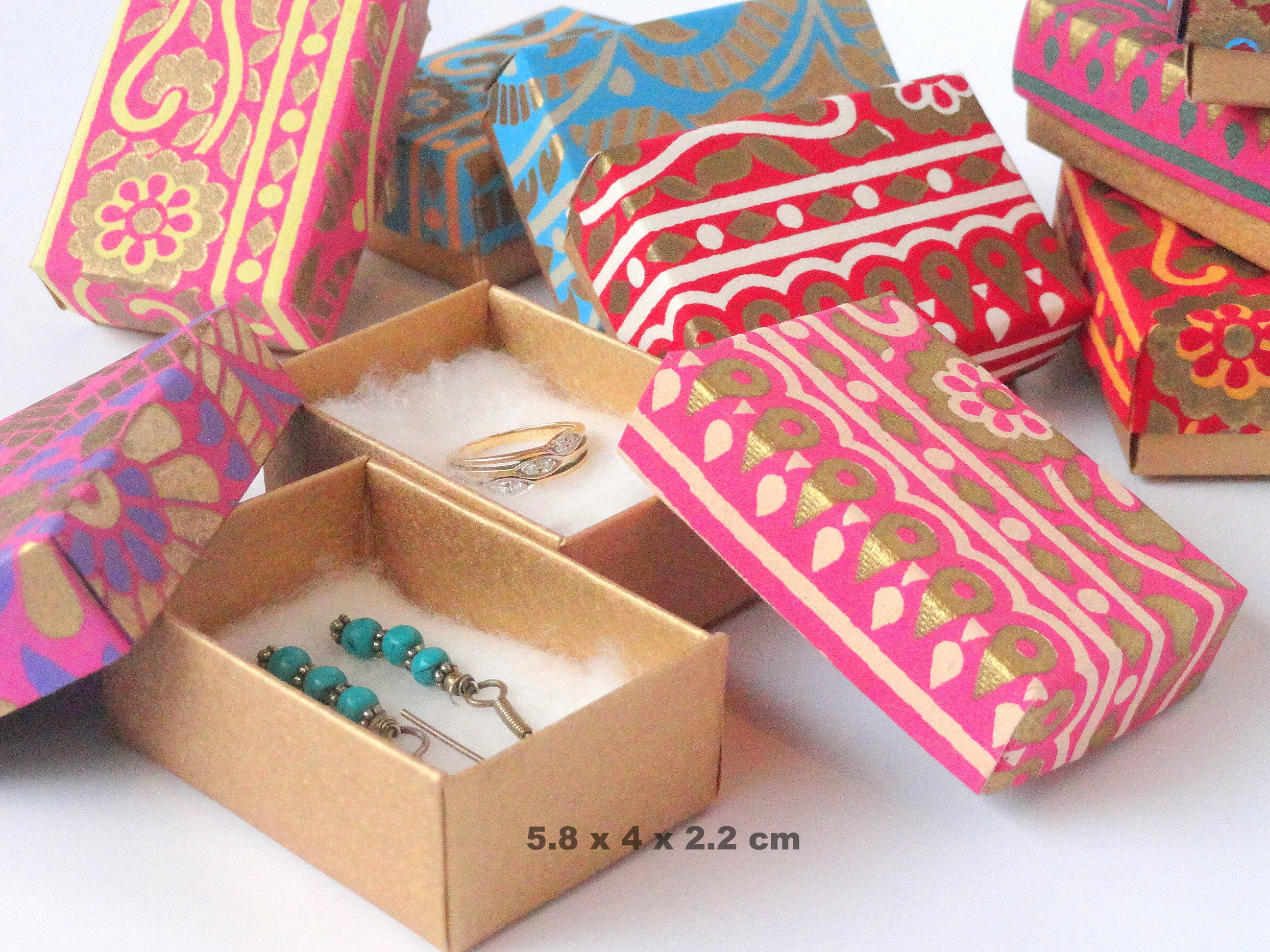 small packaging boxes wedding favor box 10 saree print