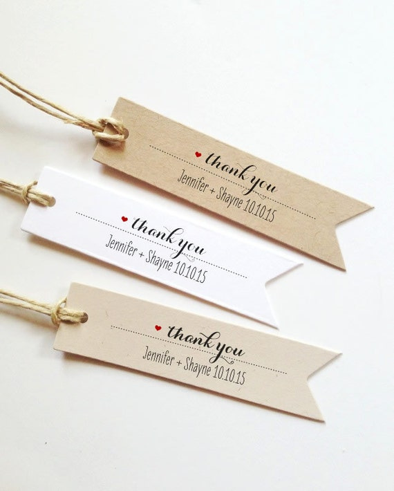 25 wedding thank you tags wedding gift tags bridal shower 25 wedding thank you tags wedding gift tags bridal shower favor tag paper tags negle Images