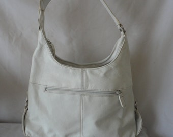 Pre Owned Worthington White Leather Shoulder Bag*****.