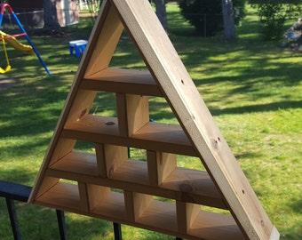 Triangle Crystal Shelf