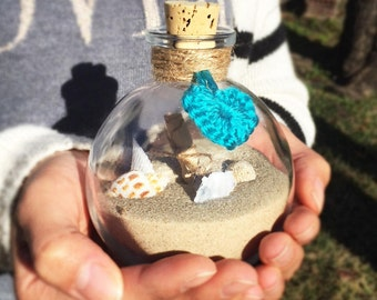 Beach Sand from Tel Aviv in a Bottle
