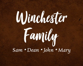 Winchester Family (Set)