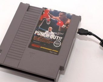 NES Hard Drive - Mike Tyson's Punch Out!
