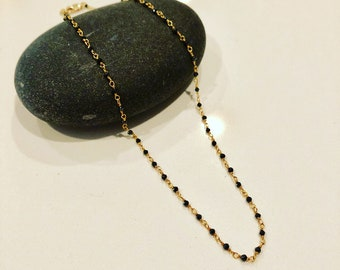 Black Water Necklace