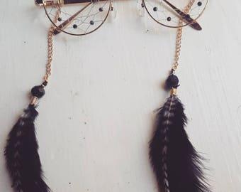 Black Swan Dreamcatcher Glasses