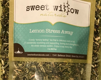 Lemon Stress Away Herbal Tea